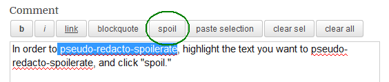 spoil button 1
