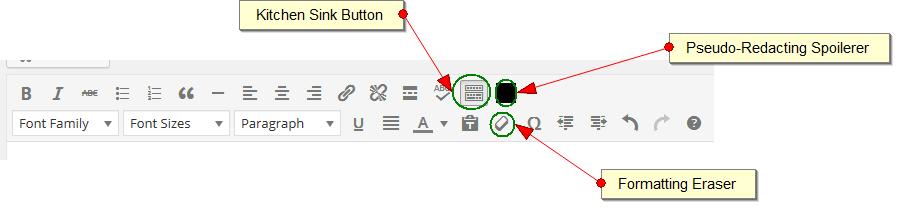 spoil button 8